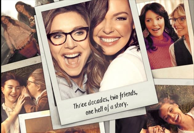 "Friends Forever"": a series with Katherine Heigl and Sarah Chalke wins the  official poster; Check out! – Designer Women"