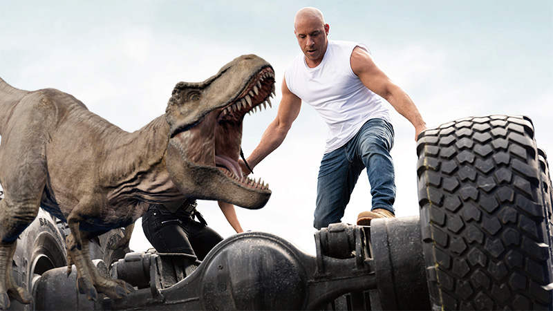 'Fast and Furious' and 'Jurassic World' crossover