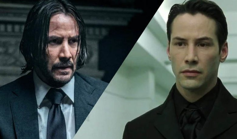 """Keanu Reeves Day! """"Matrix 4"""" and """"John Wick 4"""" hit theaters TODAY! - Designer Women"""
