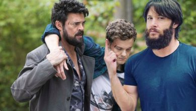 "Photo of ""The Boys"": Jensen Ackles joins Karl Urban and Jack Quaid in a set photo for season 3;  Check!"