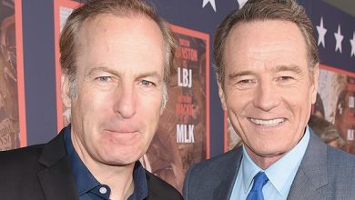 """Photo of Bob Odenkirk had a """"heart problem"""" but is now stable"""