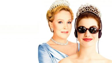 """Photo of """"The Princess Diary"""", with Anne Hathaway and Julie Andrews, turns 20;  See the curiosities on the film!"""